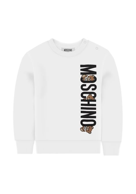 MOSCHINO | sweatshirt | MOS132BIANCO