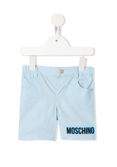 MOSCHINO | Bermuda pants  | MOS136CIELO