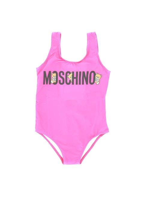 Costume intero Moschino MOSCHINO | Costume | MOS146ROSA bubble
