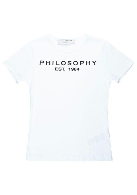 T-shirt Philosophy PHILOSOPHY | T-shirt | PHI32BIANCO