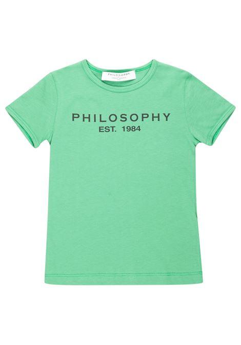 T-shirt Philosophy PHILOSOPHY | T-shirt | PHI32VERDE