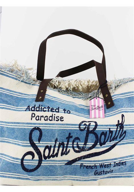 SAINT BARTH | Bag | HEL131BIANCA-AZZURRA