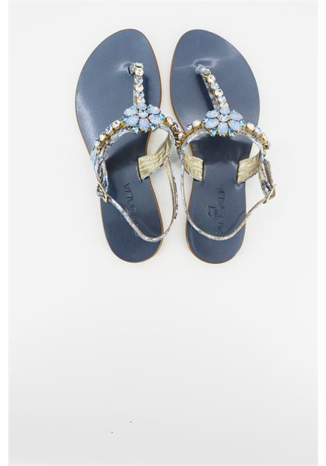 SANDALIA | foot flip flops | SA31DCELESTE