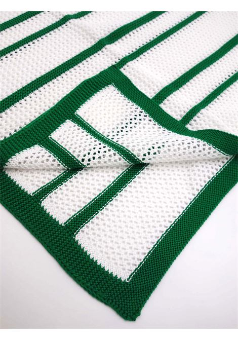 SCALDACUORE | blanket | COP0044BIANCO-VERDE