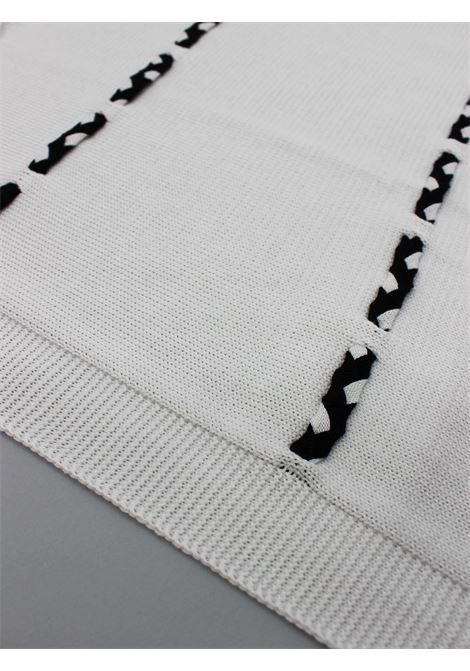 SCALDACUORE | blanket | COP0046BIANCO-BLU