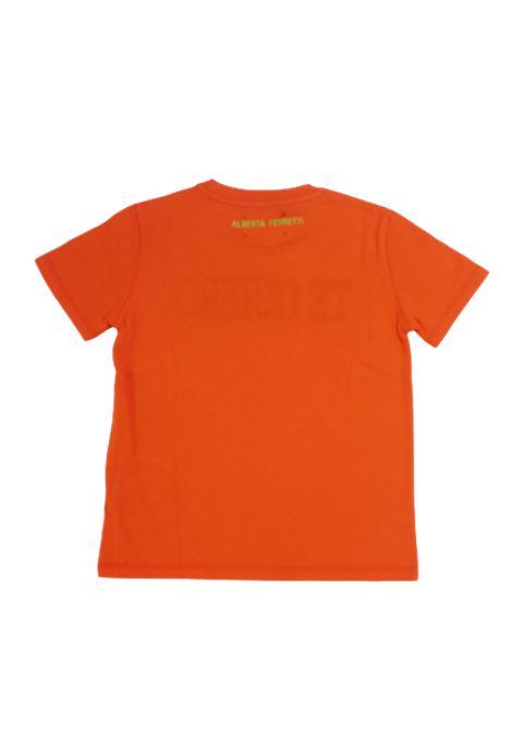 T-shirt Alberta Ferretti ALBERTA FERRETTI | T-shirt | 022146ARANCIO