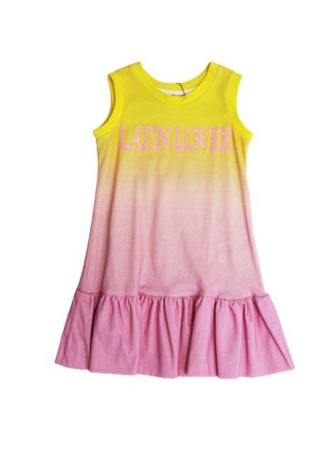 ALBERTA FERRETTI | Dress | 022190GIALLO ROSA