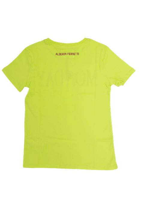 ALBERTA FERRETTI | T-shirt | ALB30GIALLO