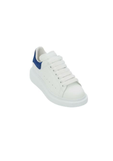 ALEXANDER MCQUEEN | Sneakers | 553770WHGP79086BIANCA-BLU COBALTO
