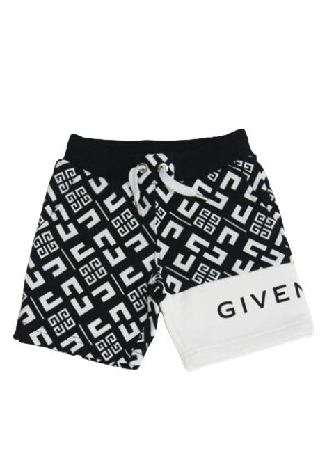 GIVENCHY | Bermuda pants  | H04070NERO FANTASIA