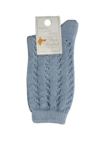 PAOLO ROMBOLI | knee sock | 1108AZZURRA