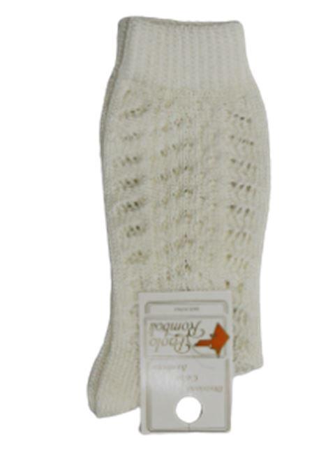 PAOLO ROMBOLI | knee sock | BEL11AECRÙ