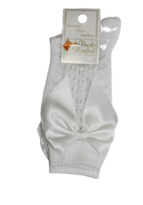 PAOLO ROMBOLI | knee sock | BEL12BIANCA