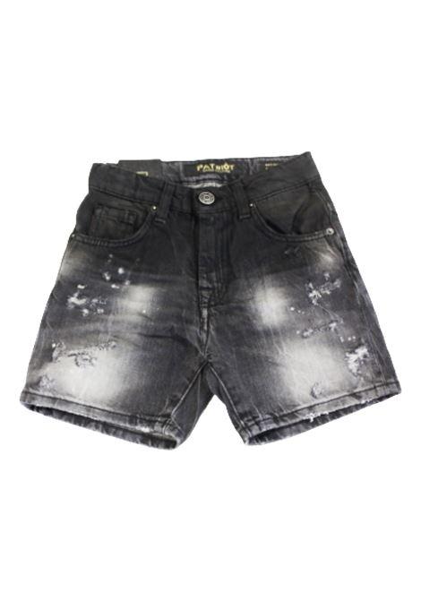 PATRIOT | Bermuda pants  | PBC1213JEANS NERO