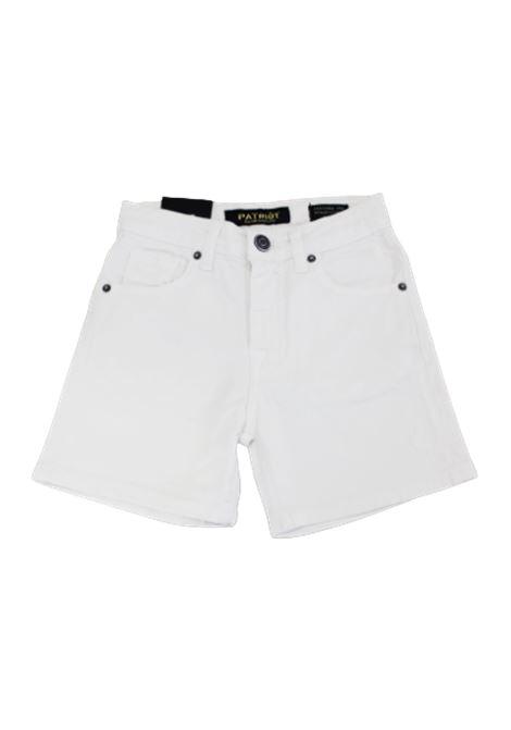 PATRIOT | Bermuda pants  | PBC1270JEANS BIANCO