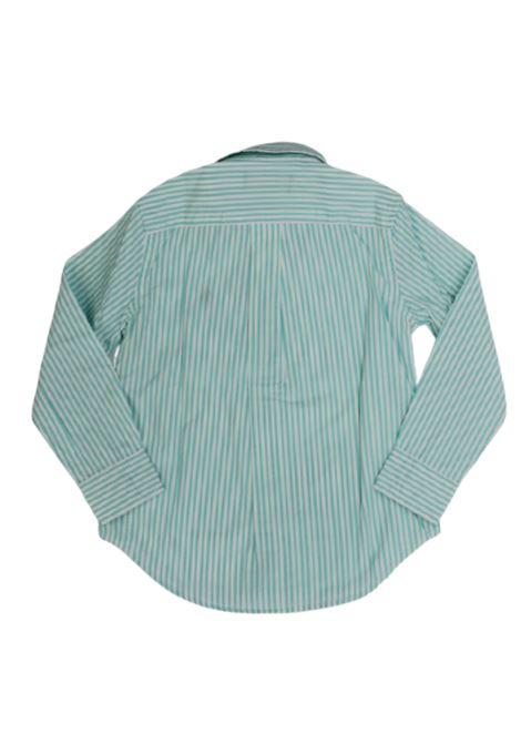 Camicia Polo Ralph Lauren POLO RALPH LAUREN | Camicia | POL221RIGA B.CO VERDE ACQUA