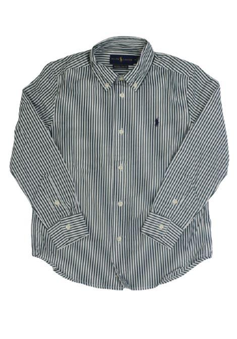 Camicia Polo Ralph Lauren POLO RALPH LAUREN | Camicia | POL221RIGA B.CO VERDE