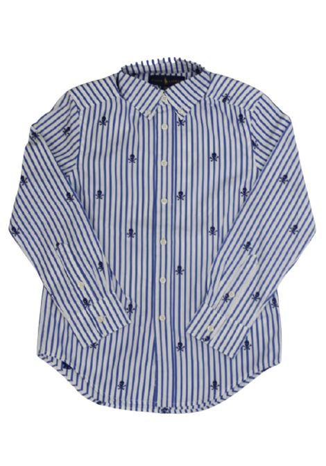 Camicia Polo Ralph Lauren POLO RALPH LAUREN | Camicia | POL222RIGA B.CO AZZURRO
