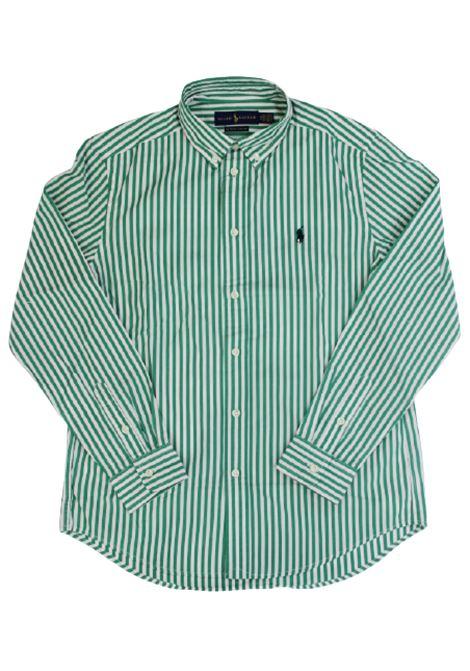Camicia Polo Ralph Lauren POLO RALPH LAUREN | Camicia | POL246RIGA B.CO VERDE