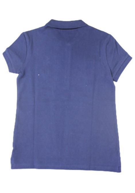 POLO RALPH LAUREN   T-shirt   POL97BLU LOGO ROSSO