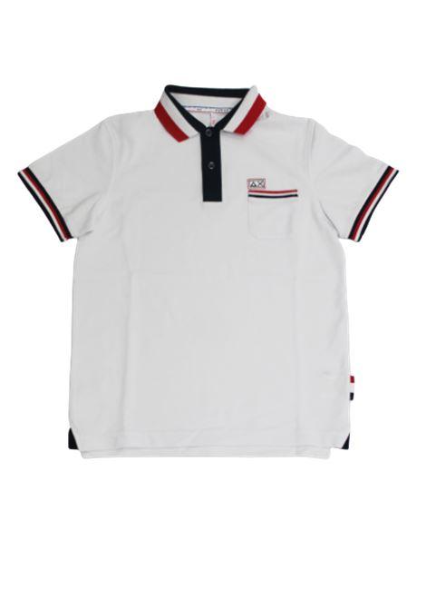 SUN68 | T-shirt | A30309BIANCO