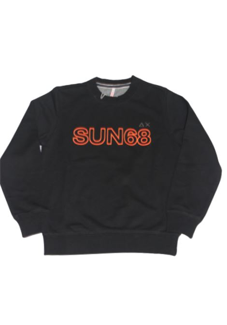 SUN68 | sweatshirt | F30313NERO
