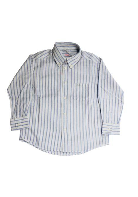 SUN68 | shirt | S19305RIGA B.CO AZZURO