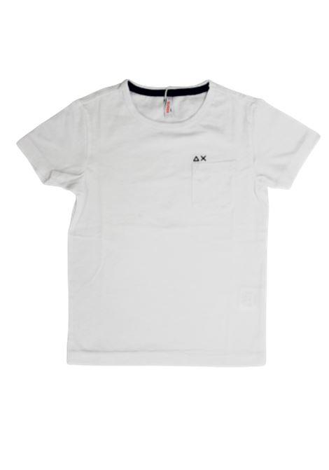 SUN68 | T-shirt | T30301BIANCO