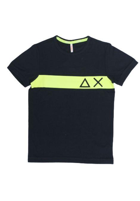 SUN68 | T-shirt | T30306BLU