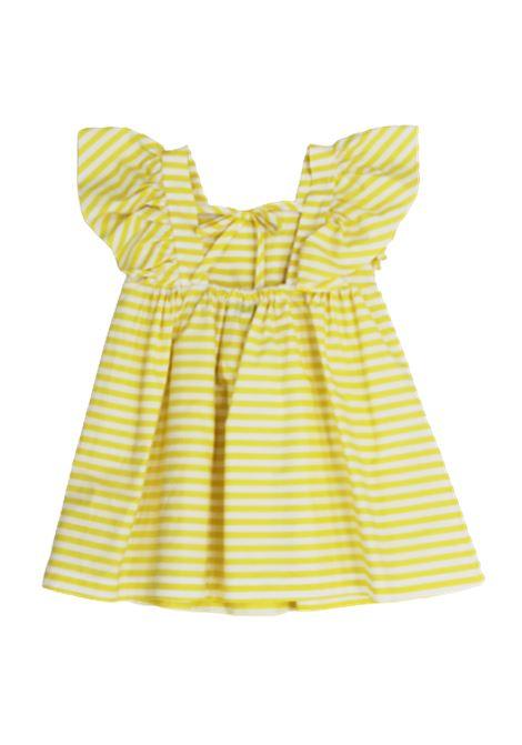 ALETTA | Dress | C00478RIGA B.CO GIALLO