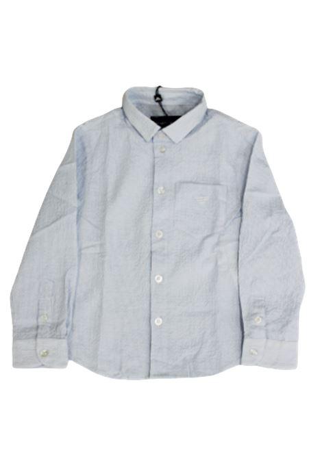 Camicia Armani ARMANI | Camicia | 3H4C094N3XZRIGA B.CO CELESTE