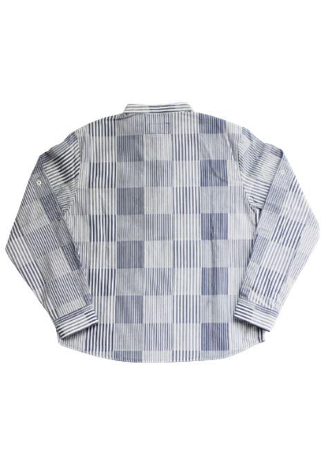 Camicia Armani ARMANI | Camicia | 3H4CJ54N3RZRIGA B.CO AZZURRO