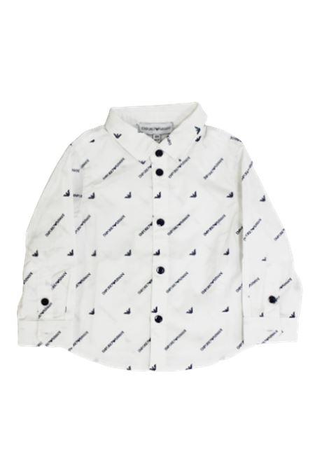 Camicia Armani ARMANI | Camicia | 6GHC074NGPZBIANCO FANTASIA