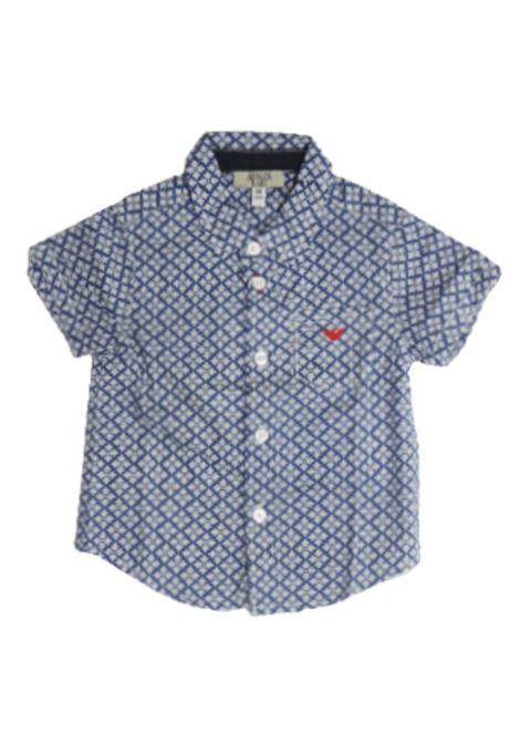 Camicia Armani ARMANI | Camicia | ADT04AZZURRO FANTASIA
