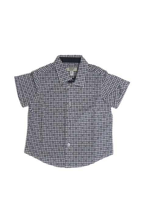 Camicia Armani ARMANI | Camicia | ARM198QUADRI B.CO BLU