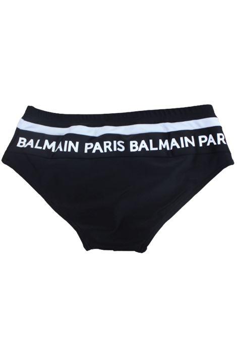 BALMAIN   swimsuit   6M0519BIANCO NERO