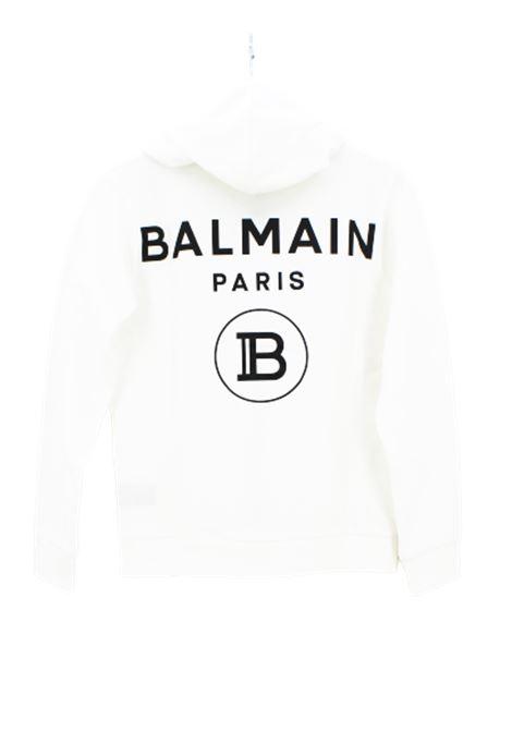 Felpa Balmain BALMAIN | Felpa | 6M4750BIANCO