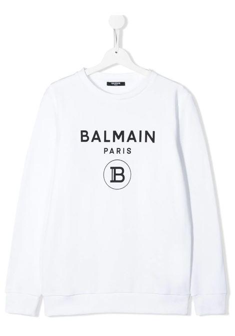 Felpa Balmain BALMAIN | Felpa | 6M4760BIANCO