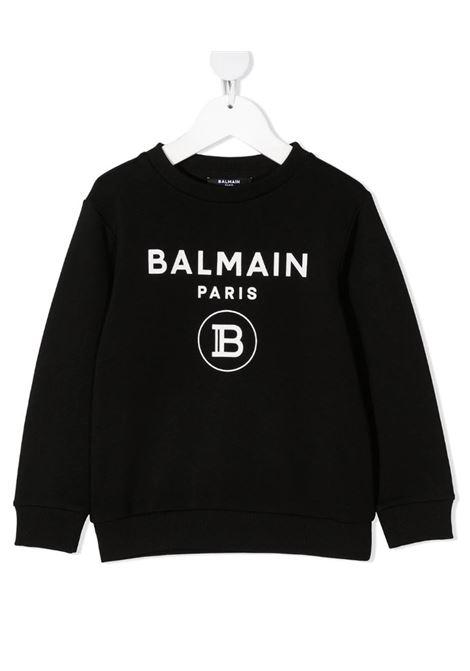 Felpa Balmain BALMAIN | Felpa | 6M4760NERO