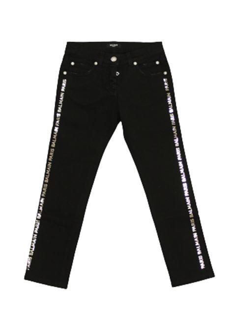 Pantalone Balmain Kids BALMAIN | Pantalone | 6M6130NERO