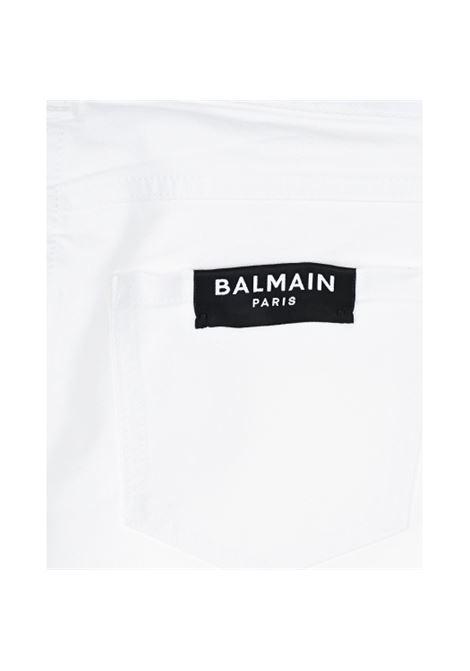 Pantalone Balmain Kids BALMAIN | Pantalone | 6M6130BIANCO