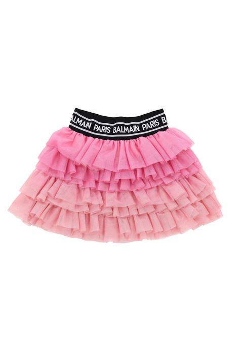 BALMAIN | skirt | 6M7040ROSA