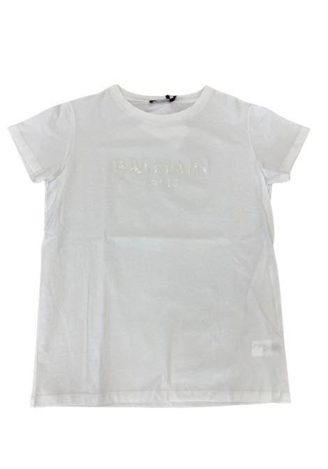 BALMAIN | T-shirt | 6M8071BIANCO