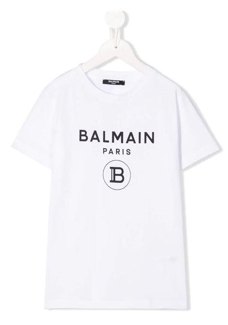 T-shirt Balmain BALMAIN | T-shirt m/m | 6M8701BIANCO