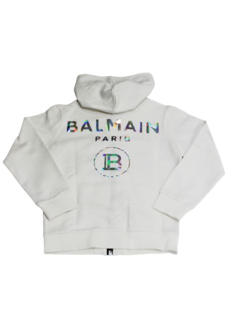 BALMAIN | sweatshirt | 6M9500BIANCO