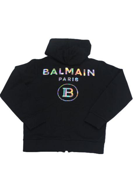 BALMAIN | sweatshirt | 6M9500NERO