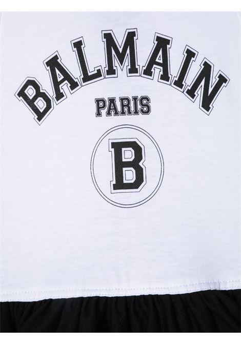 BALMAIN | Dress | 6O1292BIANCO NERO