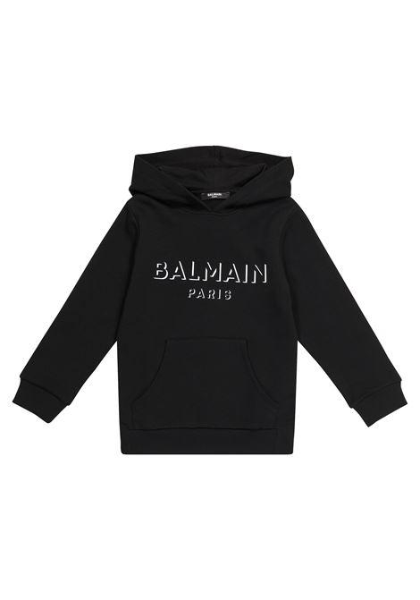BALMAIN | sweatshirt | 6O4580NERO