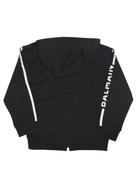 BALMAIN | sweatshirt | 6O4630NERO