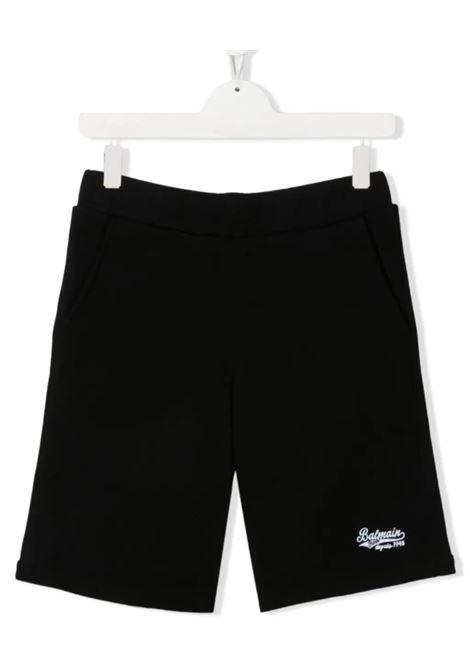 BALMAIN | Bermuda pants  | 6O6739NERO